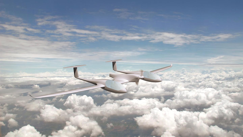 emissionsfrei, leise und sehr energieeffizient fliegen / Pressebild: DLR