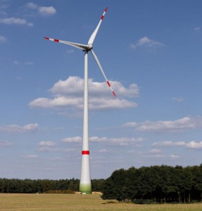 Sieben Anlagen des Typs Enercon E-115 gingen vor Jahresende in Betrieb, weitere fünf Turbinen folgen im Sommer 2016 / Pressebild
