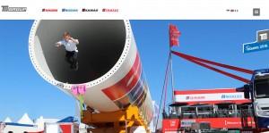 Weltmarktführer TII Group mit SCHEUERLE, NICOLAS, KAMAG auf der bauma 2016 / Pressebild