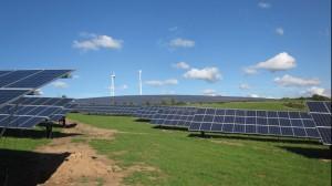 Solarpark ist Pilotprojekt von WIRSOL und BÜS / Pressebild