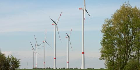 Windpark Königshovener Höhe / Pressebild