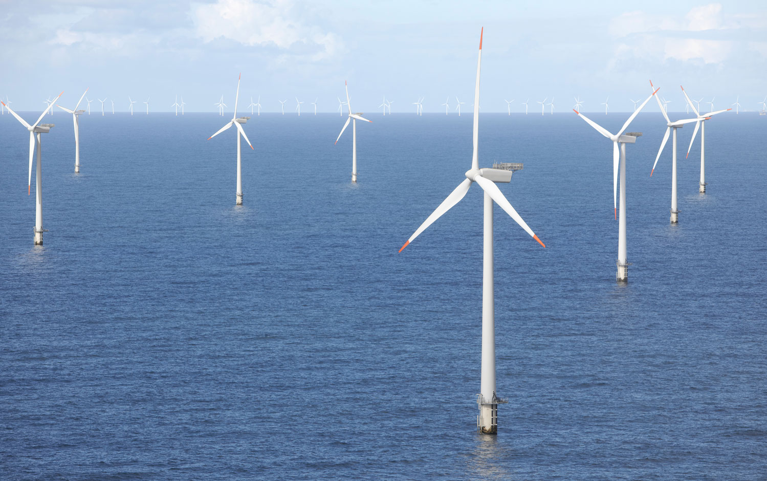 ABB wins order of more than $250 million to connect the world's largest offshore wind farm to UK grid / Pressebild