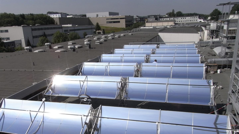 Prozesswärme für die Industrie mit Hilfe von Sonnenkraft / DLR Stuttgart 2016 Studie-Prozesswaerme: Pressebild: DLR