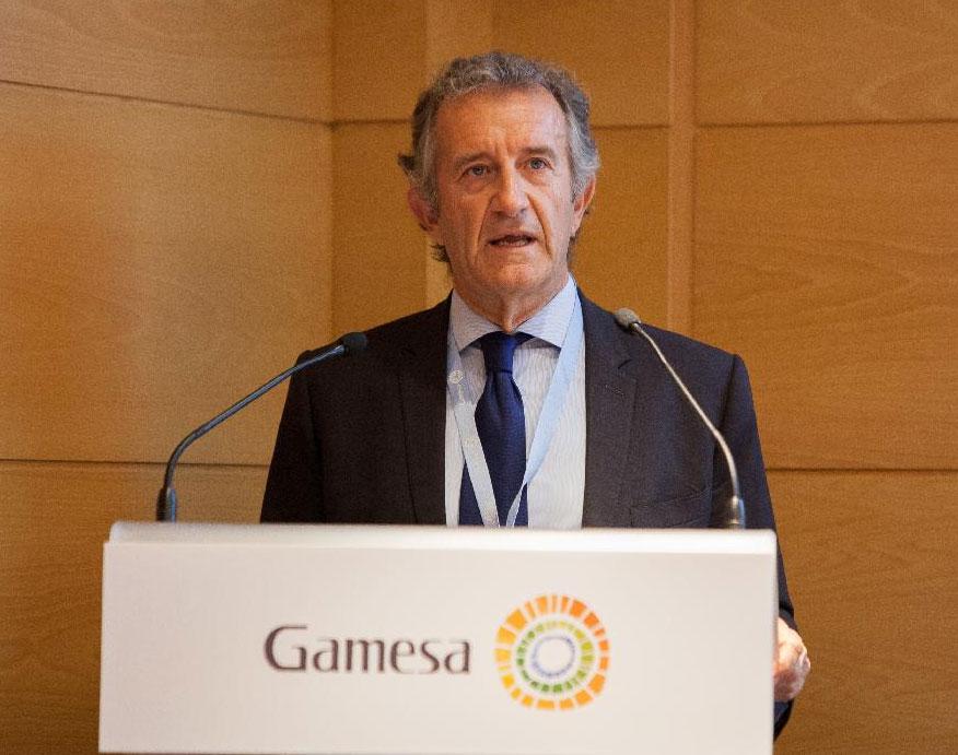 Ignacio Martín Ignacio Martín, Gamesa's Executive Chairman, during the presentation of the 2015-2017 Business Plan