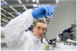 Natürlich alles rund um Energiewende-Berufe. / Pressebild: Agentur für Erneuerbare Energien e.V.