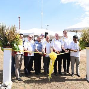 ThomasLloyd legt Grundstein für zweites Biomassekraftwerk / Pressebild