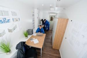 Wohn und Bürocontainer / Pressebild: ELA