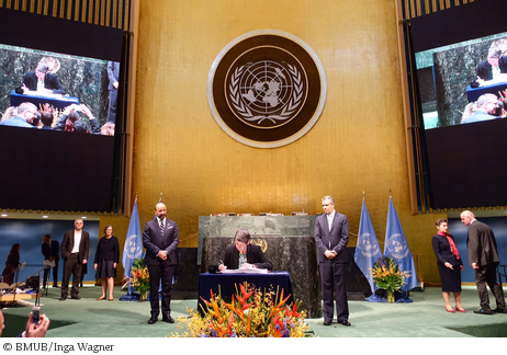 Das Pariser Klimaschutzabkommen ist unterzeichnet!