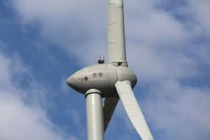 Inbetriebnahme des EP4-Prototypen, mit weltweit leistungsstärksten Onshore-Rotors / Pressebild: ENERCON
