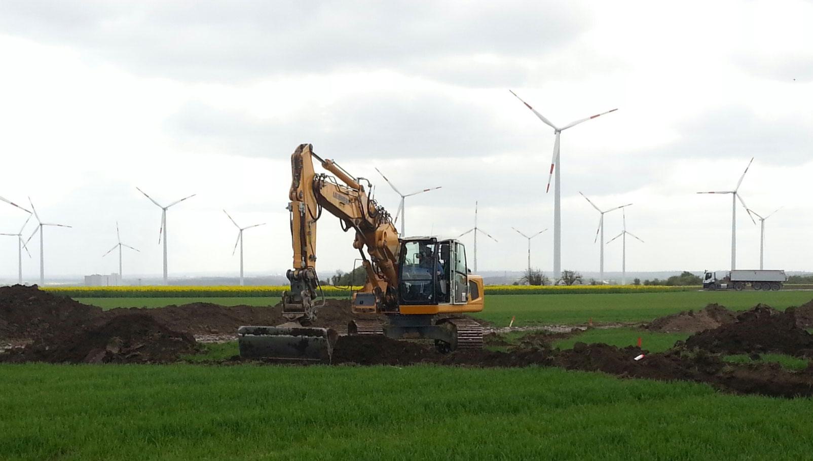Sabowind erhält Genehmigung für Erweiterung des Windparks Alsleben / Pressebild