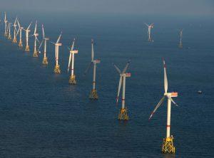 Windpark Nordsee Ost wird von Helgoland aus gesteuert / Pressebild: RWE