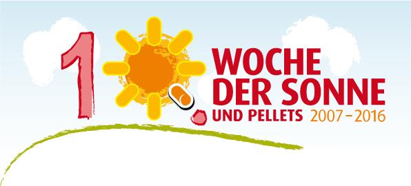 Vom 17. bis 26. Juni 2016 findet die zehnte Woche der Sonne und Pellets statt.