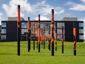 Das Zentralinstitut für Katalyseforschung der TUM, Ostansicht Bild: Andreas Heddergott / TUM