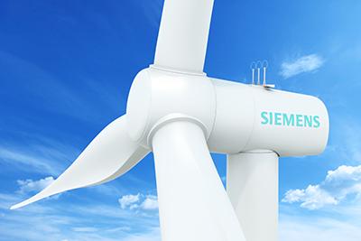 Die Siemens Windenergieanlage SWT-3.3-130 mit 130 Metern Rotordurchmesser und einer Leistung von 3,3 Megawatt hat die Typenprüfung durchlaufen. Siemens' SWT-3.3-130 wind turbine with its 130-meter-rotor and rated at 3.3 megawatts has now passed type certification.