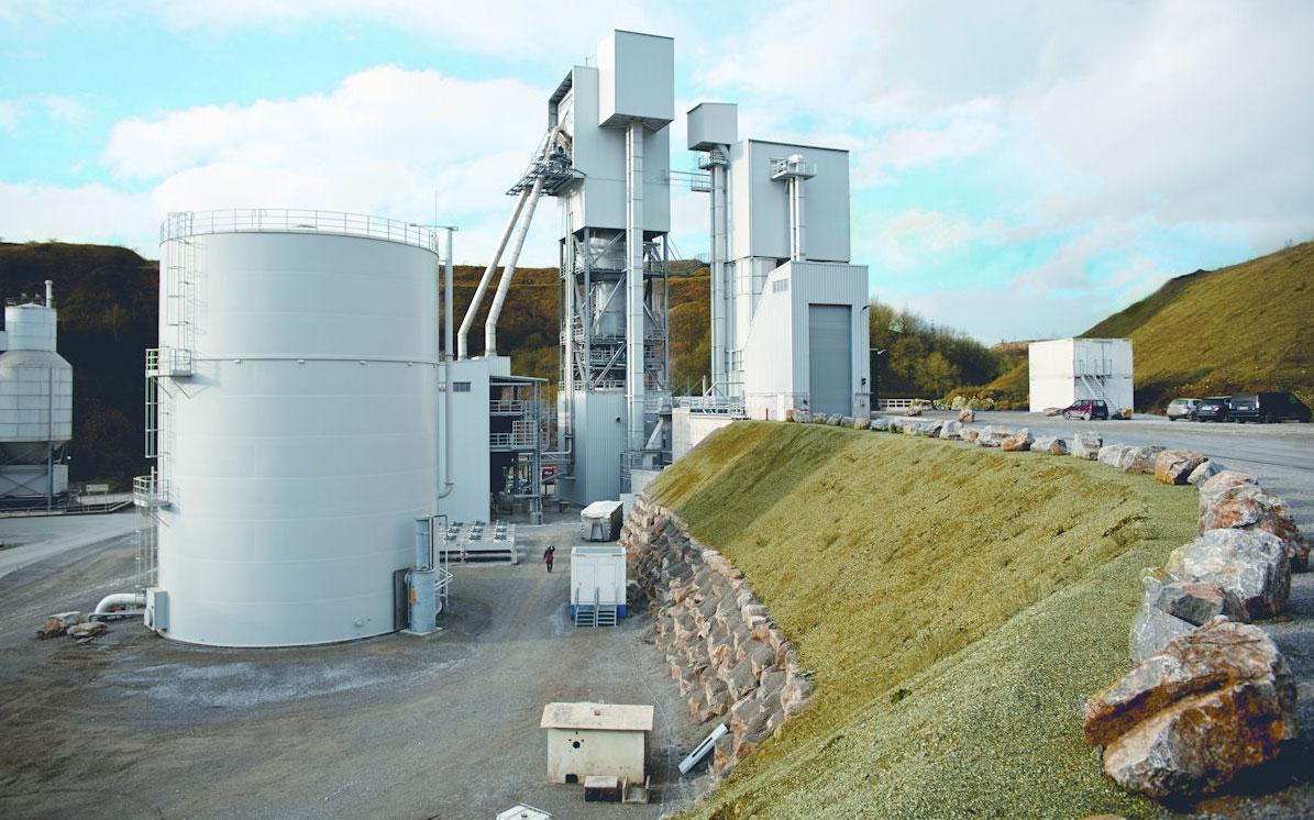 Die Pilotanlage ist darauf ausgelegt, pro Jahr bis zu 50.000 Tonnen Altkunststoff zu verwerten. Das erzeugte Synthesegas kann stofflich oder energetisch genutzt werden. © Ecoloop GmbH