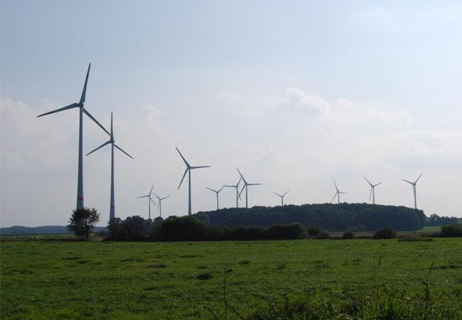 ENERCON Windpark / Foto: HB