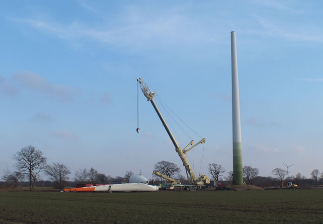 Genehmigungen für Windkraftanlagen jetzt melden / Foto: HB