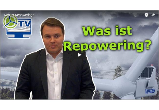 Was ist Repowering? Bild aus dem Video.