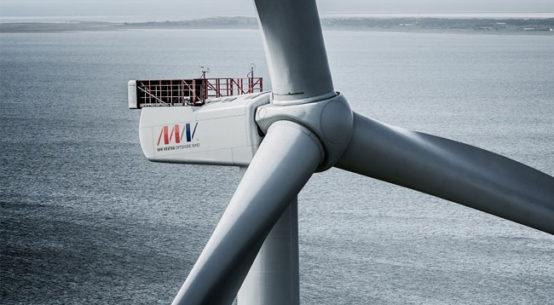 World's most powerful wind turbine / Pressebild
