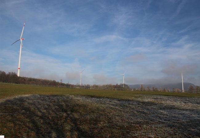 Windpark Lingelbach erweitert und optimiert Bestandsportfolio der Thüga Erneuerbaren (Quelle: Thüga Erneuerbare Energien)