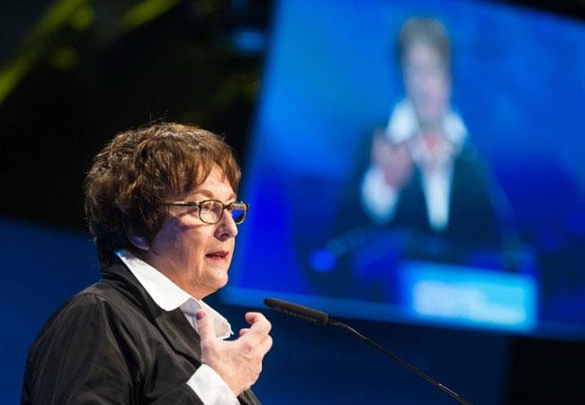 Pressebild: Ministerin Zypries / Foto: Maurice Weiss