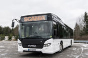 Scania starts trials of battery electric buses / Pressebild