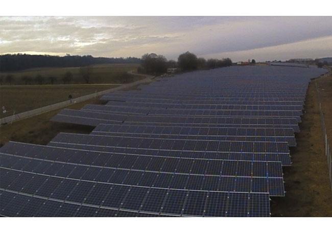 Pressebild: Solarpark Sontheim