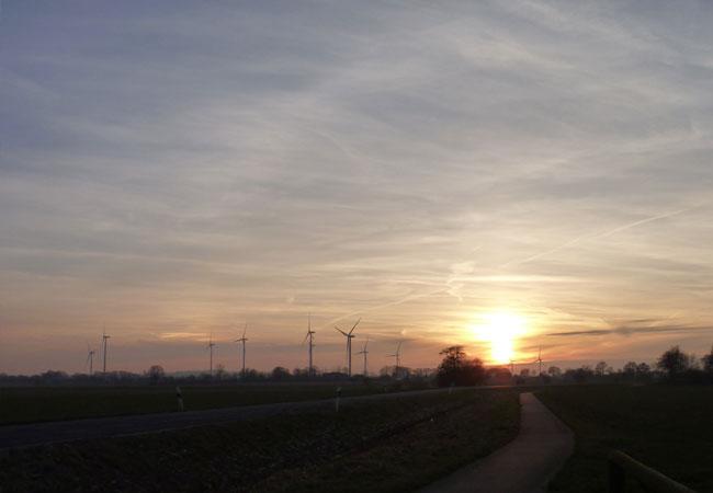 Bis zu 1500 Windräder sollten bis 2021 in Bayern neu errichtet werden / Foto: HB