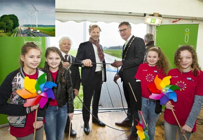 Niederländischer Windpark Kattenberg offiziell eingeweiht / Pressebilder