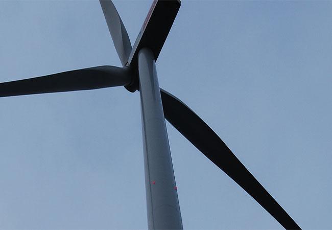 Dauerblinken von Windparks / Foto: HB