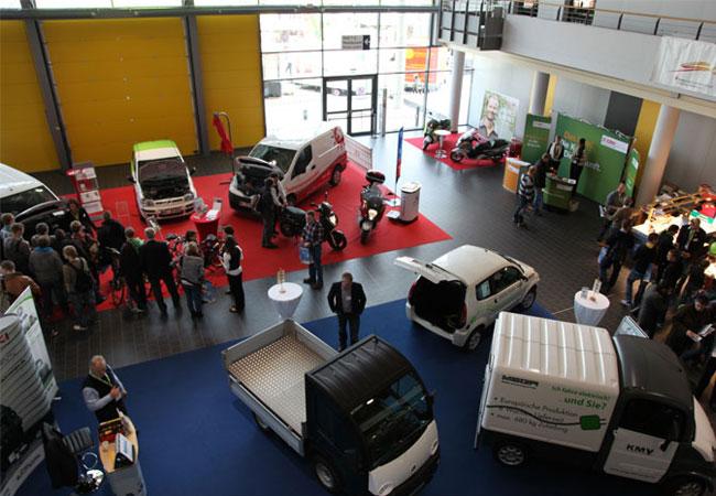 Elektromobile auf der New Energy Husum / Foto: HB