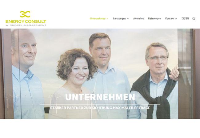 Neue Internetseite der energy consult GmbH geht online mit Blog zu Branchen-News