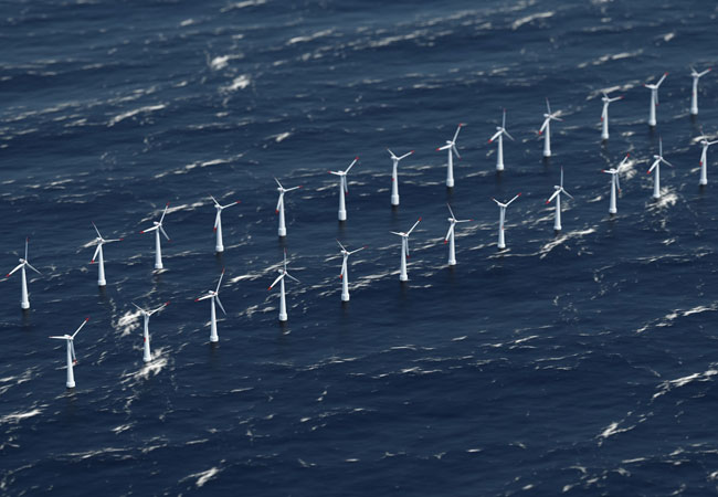 Prysmian Group_Wikinger_1: Prysmian ist verantwortlich für die Entwicklung, Fertigung, Installation, Verlegung, den Abschluss sowie Testbetrieb von 80 km 33 kV Seekabeln mit verschiedenen Querschnitten. Copyright: nullplus / Fotolia