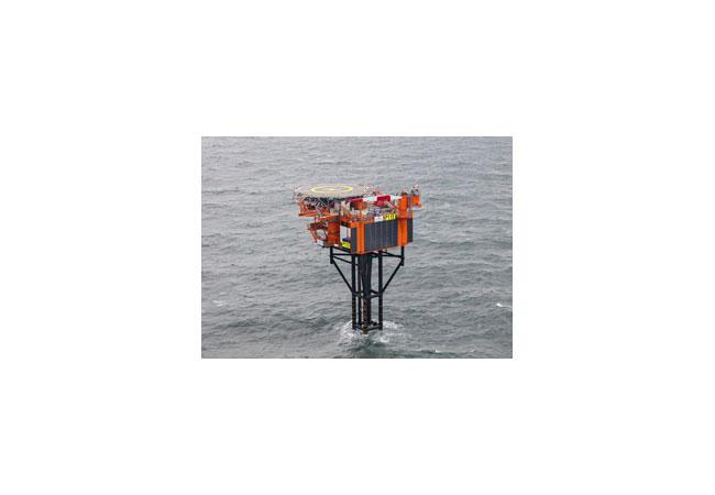 Die P11-E von Oranje-Nassau Energie B.V. ist eine der ersten, die hauptsächlich mit erneuerbaren Energien versorgt wird / Bil dnachweis: Oranje-Nassau Energie B.V.