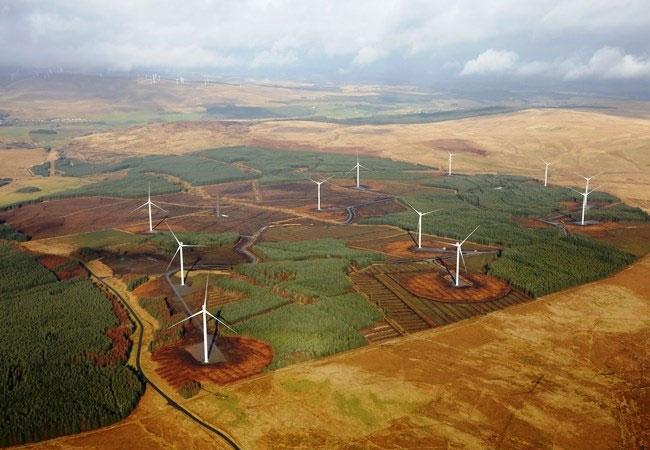 Andershaw ist das dritte Onshore-Windprojekt von Statkraft in Schottland / Pressebild