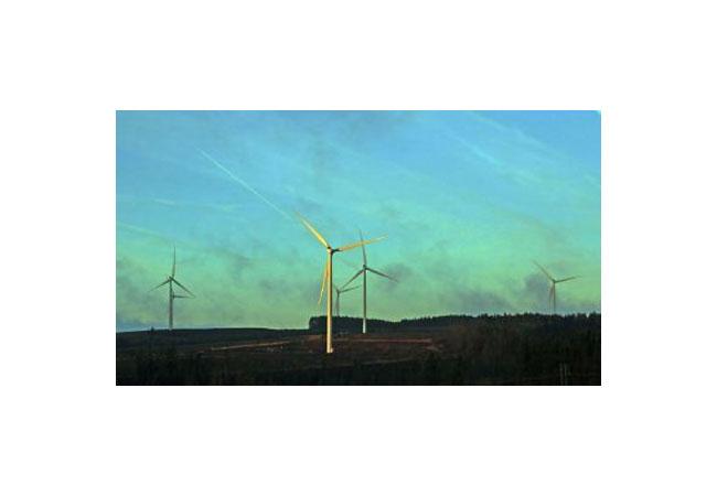 Vattenfall-Onshore-Windpark Pen y Cymoedd in Wales