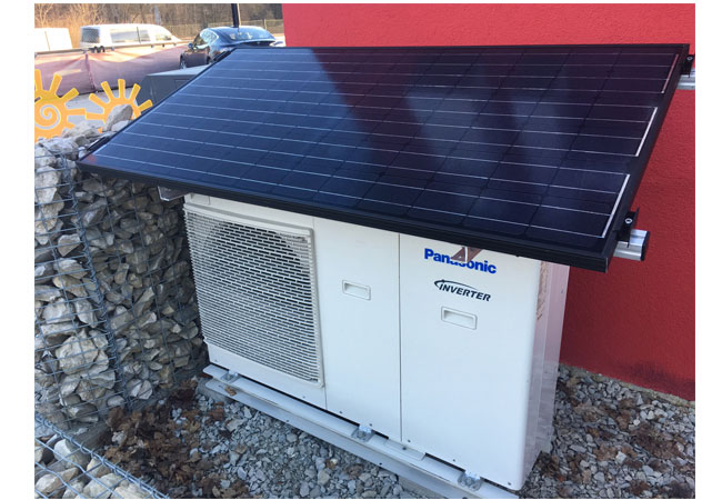 Wärmepumpe mit Solarstrom / Pressebild: © 2017 iKratos Solar und Energietechnik GmbH