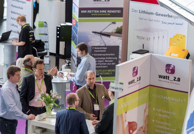 Die 14. Auflage der Messe rund um die Erneuerbaren Energien schloss am Sonntag ihre Tore / Pressebild: new energy husum