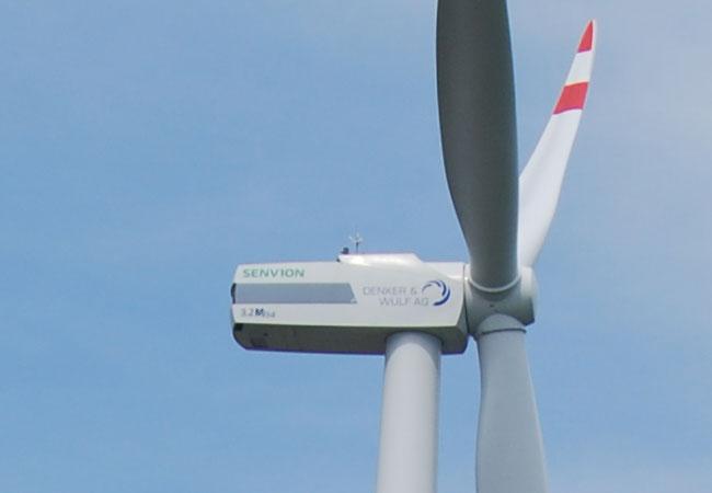 Windgenerator / Foto: HB