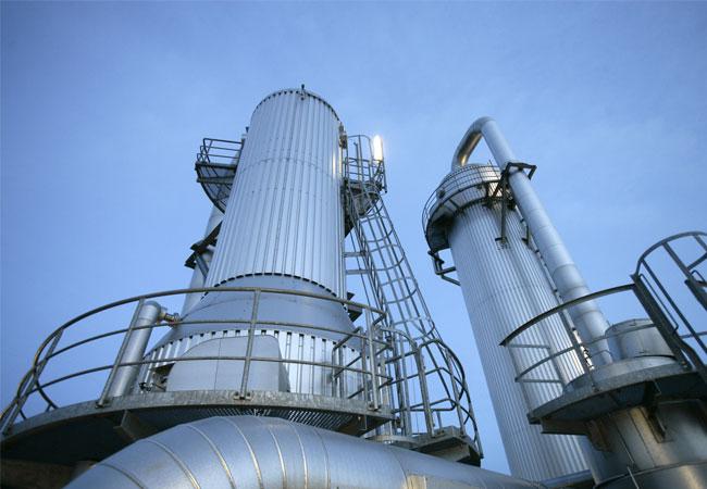 In der Destillation wird das Bioethanol gewonnen / Pressebild