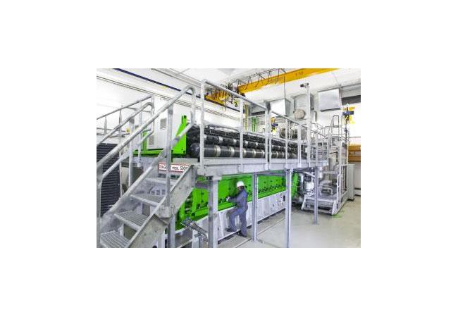 GE steigert Gesamtleistung des Gasmotors J920 FleXtra um annähernd 10% / Pressebild