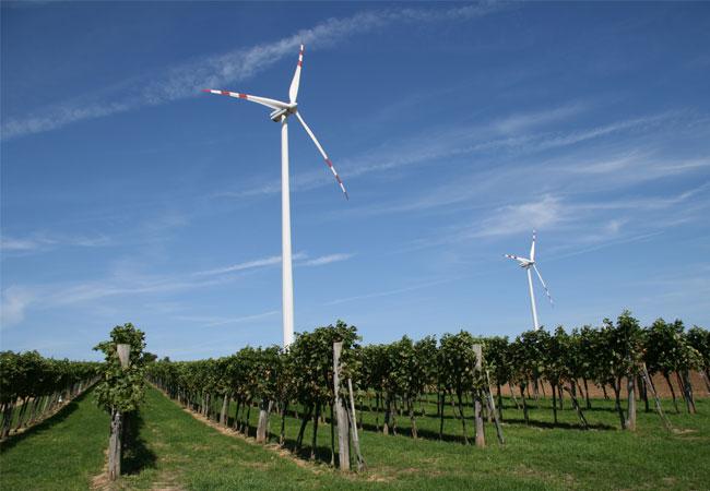 Vestas V 90 - Windpark Poysdorf - Wilfersdorf / Pressebild