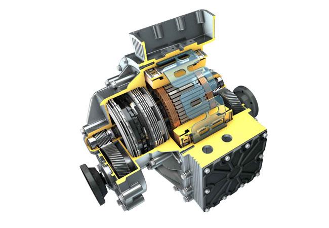 Die modulare elektrische Antriebseinheit von IAV verbindet Fahrkomfort und Effizienz / Pressebild