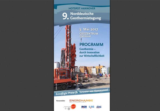 Niedersachsens Geothermie-Branche diskutiert am 3. Mai über neue Wege bei der Energieversorgung von Städten