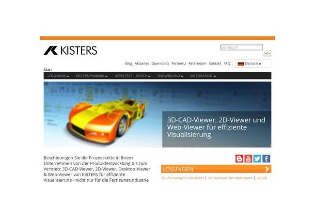 Pressebild: Internetauftritt https://viewer.kisters.de/