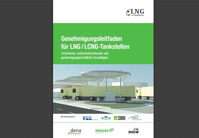 Bild: Der Genehmigungsleitfaden für LNG-Tankstellen (2,5 MB) steht unter folgendem Link zum Download bereit: https://www.dvgw.de/medien/dvgw/forschung/gas/genehmigungsleitfaden-lng-glf-tankstellen.pdf