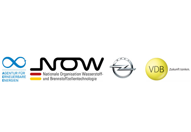 Eine Veranstaltung von: Agentur für Erneuerbare Energien (AEE) gemeinsam mit der Nationalen Organisation Wasserstoff- und Brennstoffzellentechnologie (NOW), der Adam Opel GmbH und dem Verband der Deutschen Biokraftstoffindustrie (VDB) am 16. Mai in der Hessischen Landesvertretung in Berlin veranstaltete