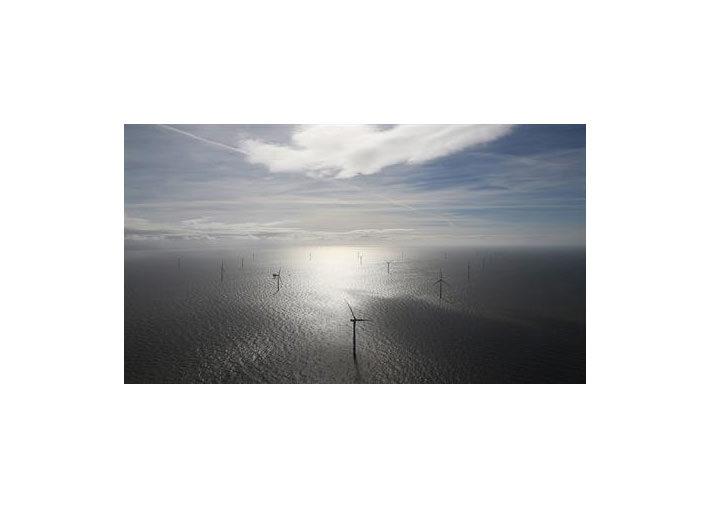 Pressebild: DONGEnergy-Images-Burbo_bank_extension_Wind_farm_view