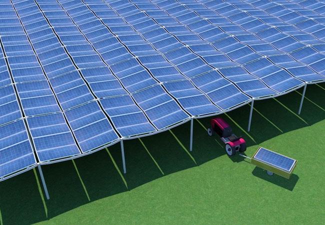 Bildunterschrift: Maximaler Stromertrag auf jeder Fläche: das neue Montagesystem GMS diamond roof Copyright: solidenergie GmbH