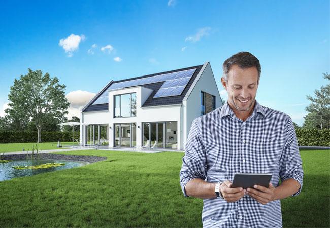 Pressebild: Sharp und edion: Neue Vertriebspartnerschagt für Energy Management System Smart Chap